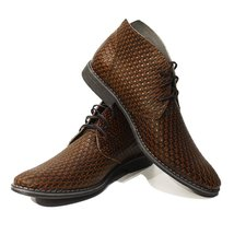 Modello Roberto - 44 EU - Handmade Colorful Italian Leather Unique Men's Shoes - $149.00