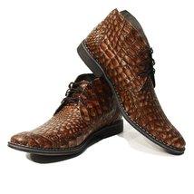 Modello Umberto - 42 EU - Handmade Colorful Italian Leather Unique Men's Shoes - $149.00