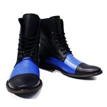 Modello Cinisello Balsamo - 40 EU - Handmade Colorful Italian Leather Unique ... - $149.00