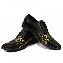 Lampart Funky Elegant Shoes - 42 EU - Handmade Colorful Italian Leather Oxfor... - $149.00