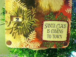 """""""Santa Claus is Coming to Town"""" Christmas Countdown Hanging Wall Decor image 4"""