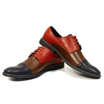 Modello Rocco - 43 EU - Handmade Colorful Italian Leather Unique Men's Shoes - $149.00