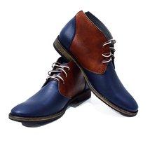 Modello Falcone - 45 EU - Handmade Colorful Italian Leather Oxfords Unique La... - $202.49 CAD