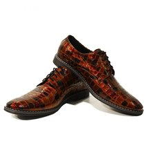 Modello Riccardo - 40 EU - Handmade Colorful Italian Leather Unique Men's Shoes - $149.00