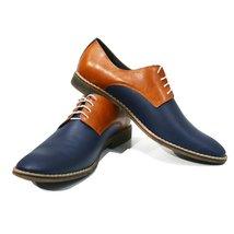 Modello Bitonto - 40 EU - Handmade Colorful Italian Leather Oxfords Unique La... - $149.00