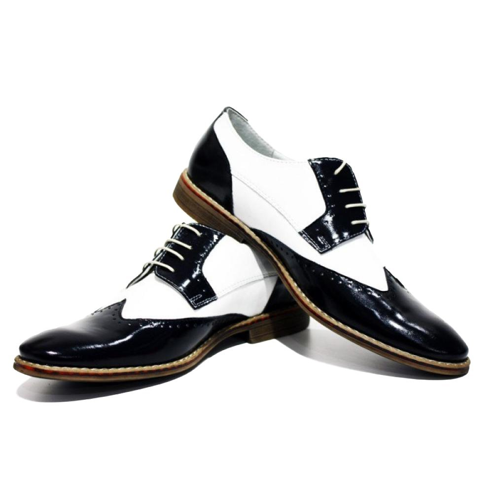 Al Capone Elegant Dress Men's Shoes - 41 EU - Handmade Colorful Italian Leath... - $149.00