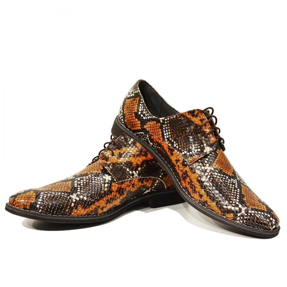 Modello Achille - 43 EU - Handmade Colorful Italian Leather Unique Men's Shoes - $149.00