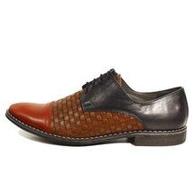 Modello Lino - 43 EU - Handmade Colorful Italian Leather Unique Men's Shoes - $149.00
