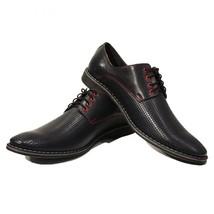 Modello Giacinto - 42 EU - Handmade Colorful Italian Leather Oxfords Unique L... - $149.00