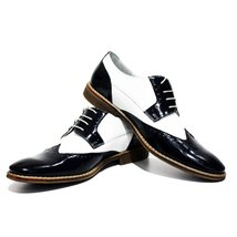 Al Capone Elegant Dress Men's Shoes - 42 EU - Handmade Colorful Italian ... - $149.00