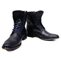 Modello Fabrizio - 40 EU - Handmade Colorful Italian Leather Unique High Boot... - $149.00