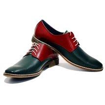 Modello Albenga - 44 EU - Handmade Colorful Italian Leather Oxfords Unique La... - $149.00