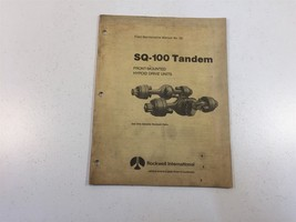1980 Rockwell SQ-100 Tandem Front Mounted Hypoid Drive Units - $19.99