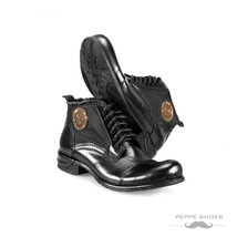 Modello Vieste - 43 EU - Handmade Colorful Italian Leather Unique High Boots ... - $149.00