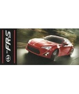 2012/2013 Scion FR-S brochure folder 1st Edition INTRO Toyota FT 86 FRS - $10.00
