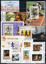 OLYMPIC GAMES worldwide collection x20 S/S used/CTO SPORTS, TRACK & FIELD - $6.44