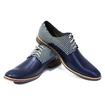 Modello Cavalieri - 43 EU - Handmade Colorful Italian Leather Oxfords Un... - $149.00