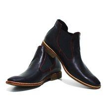 Modello Castro - 41 EU - Handmade Colorful Italian Leather Unique Ankle Boots... - $149.00