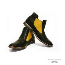Modello Rimini - 42 EU - Handmade Colorful Italian Leather Unique Ankle Boots... - $149.00