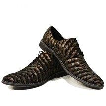 Modello Tartaruga - 42 EU - Handmade Colorful Italian Leather Unique Men's Shoes - $149.00