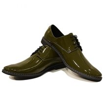 Modello Listo - 45 EU - Handmade Colorful Italian Leather Oxfords Unique Lace... - $149.00