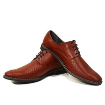 Modello Domenico - 40 EU - Handmade Colorful Italian Leather Unique Men'... - $149.00