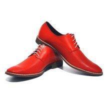 Modello Pesaro - 45 EU - Handmade Colorful Italian Leather Oxfords Unique Lac... - $149.00
