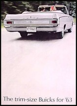 1963 Buick Dlx Color Dealer Brochure, Skylark, Special - $9.53