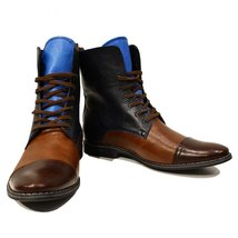 Modello Sciabole - 41 EU - Handmade Colorful Italian Leather Unique High Boot... - $149.00