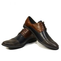 Modello Patrizio - 43 EU - Handmade Colorful Italian Leather Oxfords Unique L... - $149.00