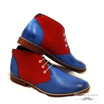 Modello Padova - 45 EU - Handmade Colorful Italian Leather Unique High Boots ... - $149.00