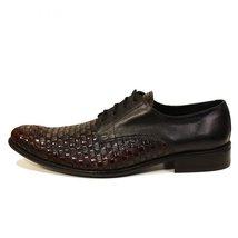 Modello Pasquale - 44 EU - Handmade Colorful Italian Leather Oxfords Unique L... - $149.00