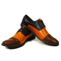 Modello Waltero - 44 EU - Handmade Colorful Italian Leather Oxfords Uniq... - $149.00