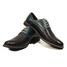 Modello Pancrazio - 44 EU - Handmade Colorful Italian Leather Oxfords Unique ... - $149.00
