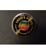 Rock n Roll Stamp Pinback USPS  - $3.99