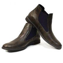 Modello Orazio - 45 EU - Handmade Colorful Italian Leather Unique Ankle Boots... - $149.00
