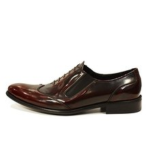 Modello Ildefonso - 44 EU - Handmade Colorful Italian Leather Unique Men's Shoes - $149.00