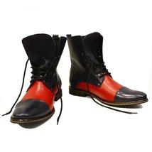 Modello Stiletto - 40 EU - Handmade Colorful Italian Leather Unique High Boot... - $149.00
