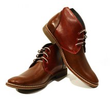 Modello Augusto - 44 EU - Handmade Colorful Italian Leather Unique High Boots... - $149.00