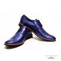Modello Grosseto - 41 EU - Handmade Colorful Italian Leather Oxfords Unique L... - $149.00