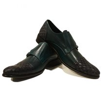 Modello Marino - 41 EU - Handmade Colorful Italian Leather Oxfords Unique Lac... - $149.00