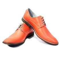 Modello Crocette - 44 EU - Handmade Colorful Italian Leather Oxfords Unique L... - $149.00