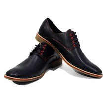 Modello Belpasso - 41 EU - Handmade Colorful Italian Leather Oxfords Unique L... - $149.00