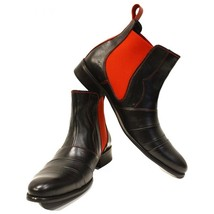 Modello Loretto - 40 EU - Handmade Colorful Italian Leather Unique Ankle Boot... - $149.00