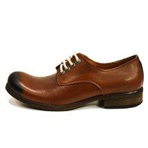 Modello Andrea - 43 EU - Handmade Colorful Italian Leather Oxfords Unique Lac... - $149.00