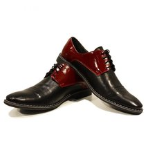 Modello Albino - 41 EU - Handmade Colorful Italian Leather Oxfords Unique Lac... - $149.00
