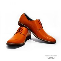 Modello Tivoli - 43 EU - Handmade Colorful Italian Leather Oxfords Unique Lac... - $149.00