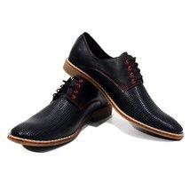 Modello Belpasso - 44 EU - Handmade Colorful Italian Leather Oxfords Unique L... - $149.00