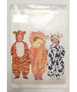 Animal Sewing Patterns Child Butterick 4115 Halloween - $7.13