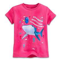 "Disney Store Finding Dory ""How are you?"" Short Sleeve Tee T-Shirt for Girls - $15.00"